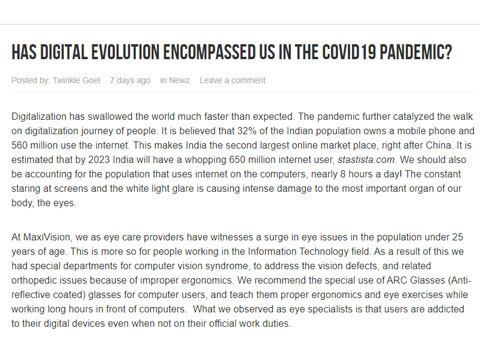 Has digital evolution encompassed us in the COVID19 Pandemic?